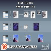 Cheat sheet #2: Blur Filters preview by Kate-FoX