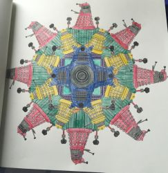Daleks - Doctor Who Coloring Book by mkayswritings