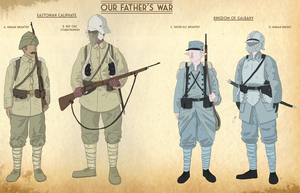 Our Fathers War Faction sheet 2 by goeliath