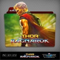 Thor Ragnarok (2017) Movie Folder Icon by DhrisJ