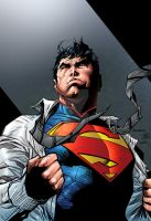 Jim Lee Superman Colors by roncolors