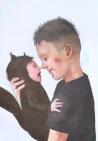 dixon brothers - little squirrel by Everybery
