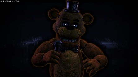 First Attempt at Maya: Freddy Fazbear by TF541Productions