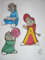 Alvin and the Chipmunks by always-love-him01