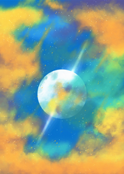 Glowing Clouds (Test) by CM2D