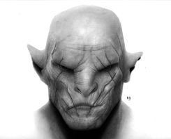 Azog the Defiler by hg-art