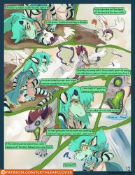 Asteria Six: Page 12. Paranoia. by The-SixthLeafClover