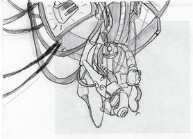 GLaDOS: a SKeTCH by Wolf-Shadow77