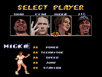 Mickie James Video Game by Tiraass