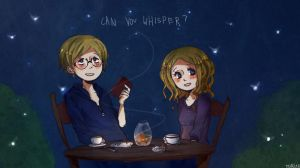 Can you whisper? by Flowers-and-Deers