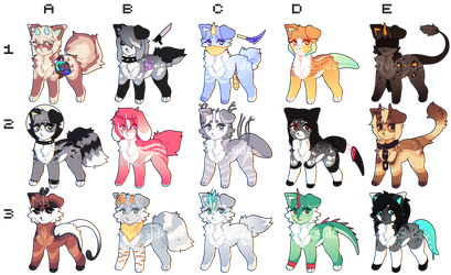 Adoptable Batch | Set Price CLOSED by DvrkSide