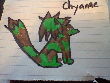 Chyanne the fox by remehoney