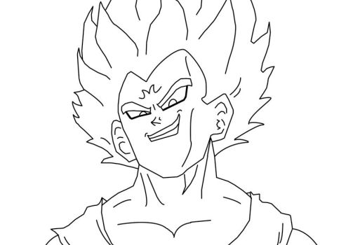 Majin Vegeta by Vegetanthony