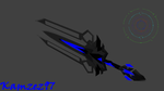 WarthogS117 sword 3d model (sword of the Guardians by Axial97
