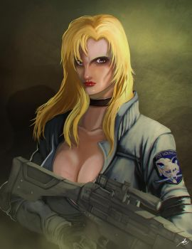 Sniper Wolf by bustercloud