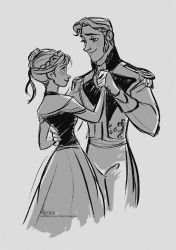 Disney's FROZEN - Anna and Hans by David Kawena by davidkawena
