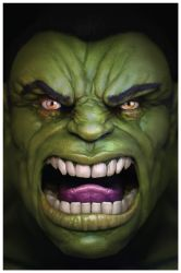 Hulk (by Will Liddle) by ChasingArtwork