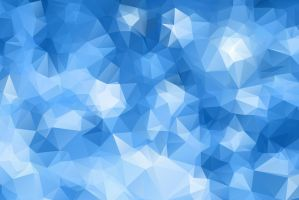Blue Polygonal Background by Roberis