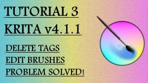 Krita Video Tutorial 3 (subt. in 7 languages) by Fractalico