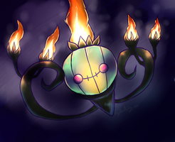 Shiny Chandelure