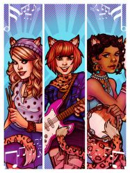 Josie and the Pussycats by ChrissieZullo