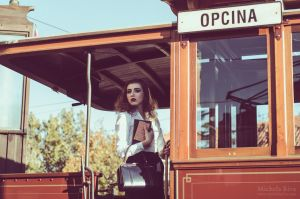 Tramway to Dreamland IX by Michela-Riva