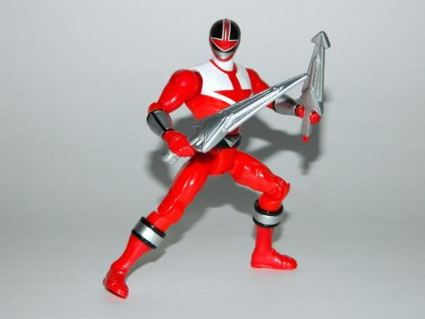 Red Time Force Ranger Action Hero by LinearRanger