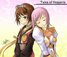 Tales of Vesperia Rita Estelle by Dreamer128