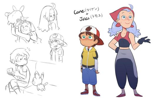 Cane and Jules by kilalaaa