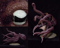 Giant Octopus by blackpanda