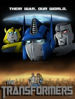 The Transformers Poster by RebeccaHudgens