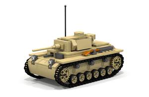 Lego Panzer III, Ausf L by Pegasus047