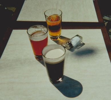 Beer on table by AbsoluteApril