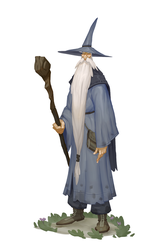 Gandalf by joekelleriv