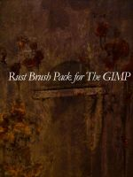 5 Rust Brushes for GIMP by Stock7000