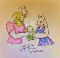 The Dreemurr Family by Clairbanthedoll