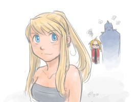 Yay Winry by shadrad