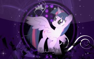 Twilight Sparkle Wallpaper by ImLaddi