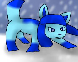 Glaceon by spyrkle4