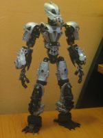Bionicle MOC: Toa Axer by TheAxelandx1