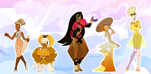 Thanksgiving Gem Adopts - OPEN accepting points* by Hantabe