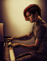 2011 Punk pianist by harbek
