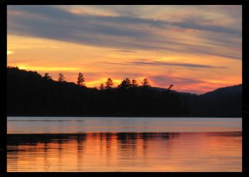 Saranac Sunset 3 by coldshadows