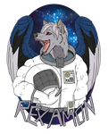 RexAmon in Space by Kampfkewob