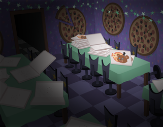 FNOATF Dining Room by ZuTheSkunk