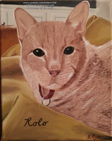 Rolo Kitty Memorial Painting by Fefe1414