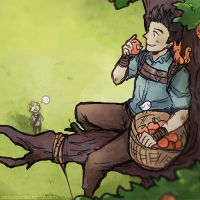 The Maze Runner - Afternoon in the Glade by tedizack