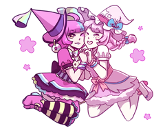 [CE] Pink Witches by PreciousKnightwalker