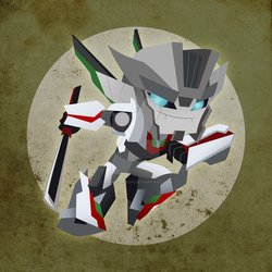 Chibi Wheeljack by NightLokison