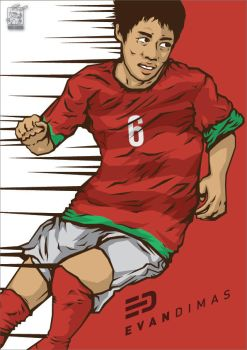 Evan Dimas by warlock1291